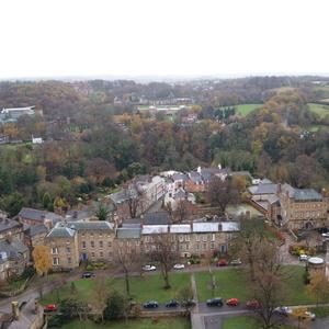 Ausblick auf Durham vom Turm der Kathedrale