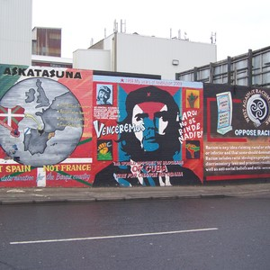 Murals in West Belfast (von Stephan Helmrich)
