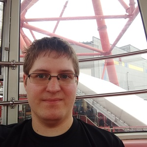 Me, happily riding a ferris wheel